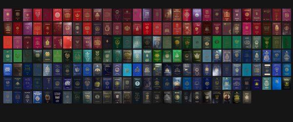 Paszporty i ich kolory