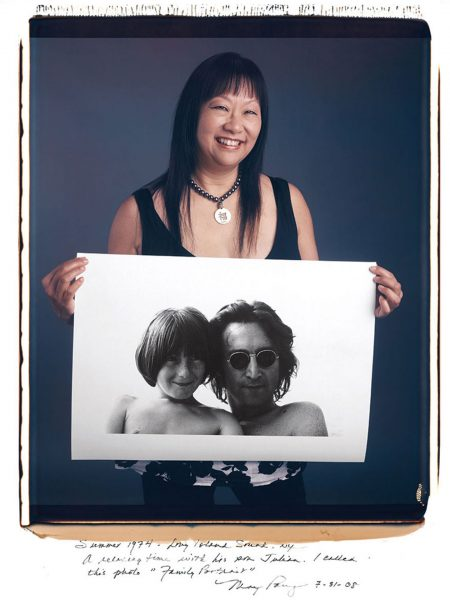 May Pang – John Lennon (fot. Tim Mantoani)