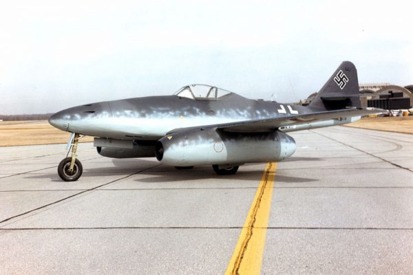 Messerschmitt Me 262A w kolekcji National Museum of the United States Air Force (fot. USAF)