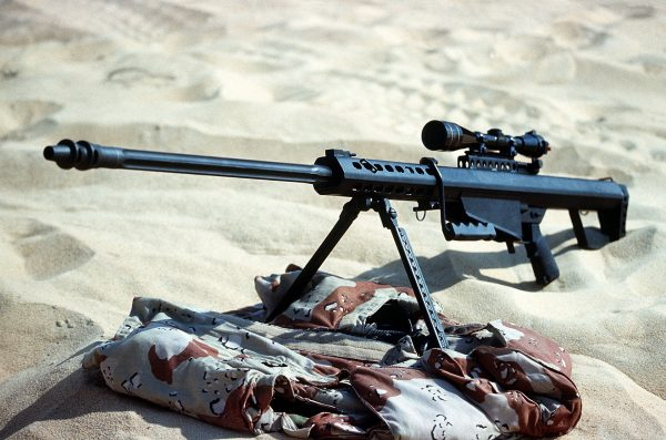 Legendarny, ciężki karabin wyborowy kalibru .50 cala (12,7 mm) - Barrett M82A1