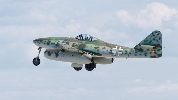 Replika Messerschmitta Me 262 (fot. Julian Herzog/Wikimedia Commons/julianherzog.com)