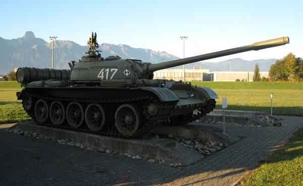 T-54A w muzeum