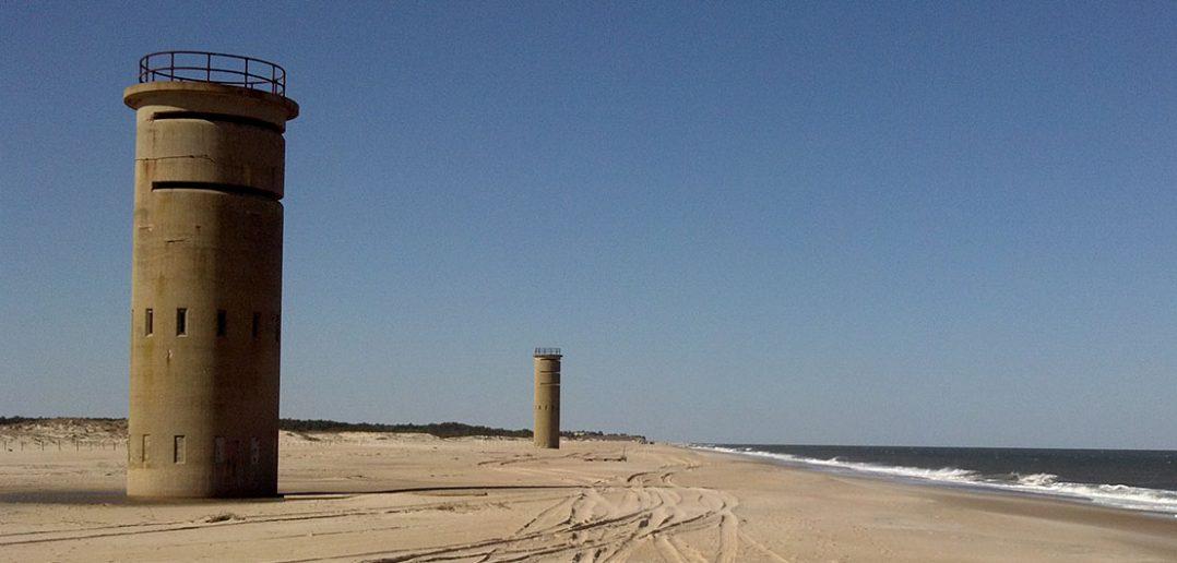 Fort Miles i wieże obserwacyjne na plażach Delaware
