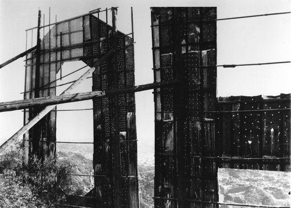 Oryginalna konstrukcja napisu Hollywoodland