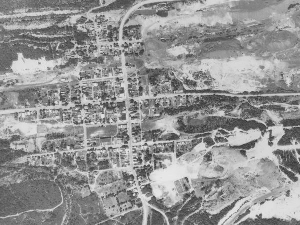 Centralia w 1971 roku