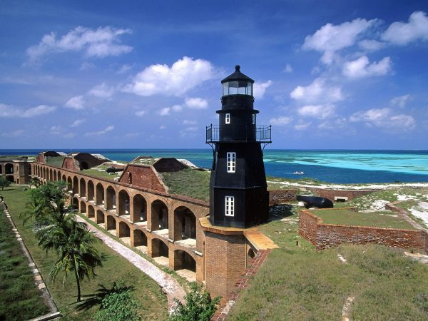 Fort Jefferson (fot. nieznany)