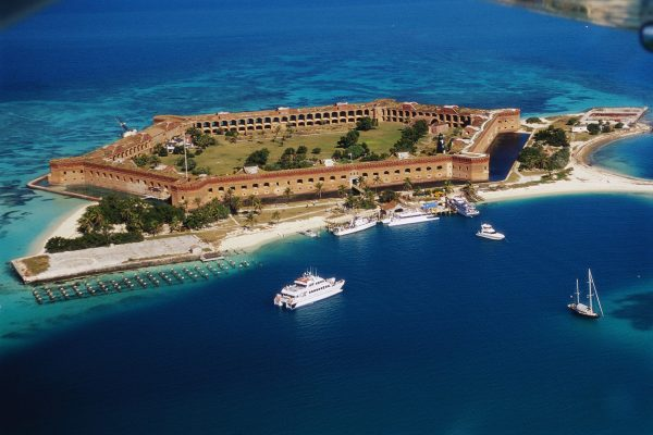 Fort Jefferson (fot. Bob Krist/CORBIS)