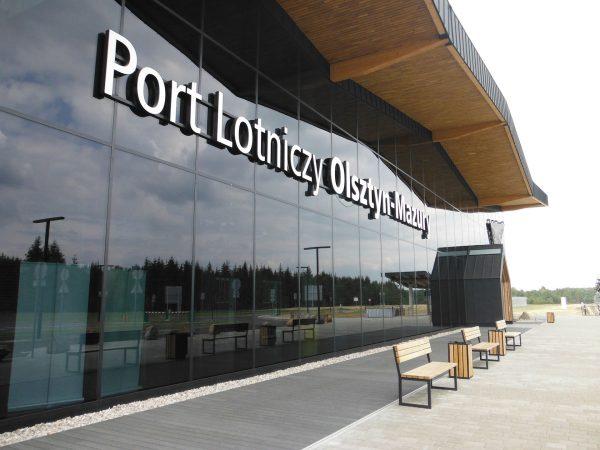 Port Lotniczy Olsztyn-Mazury (fot. Tadeusz Rudzki)