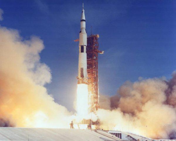 Start misji Apollo 11 (fot. NASA)