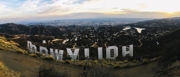Napis Hollywood współcześnie (fot. pixabay.com)