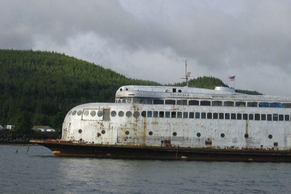 MV Kalakala po wycofaniu z służby