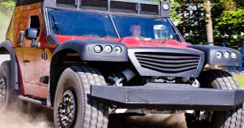 FUNTER - Polski wielofunkcyjny pojazd do zadań specjalnych