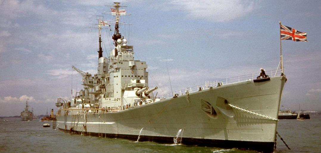 HMS Vanguard - ostatni pancernik