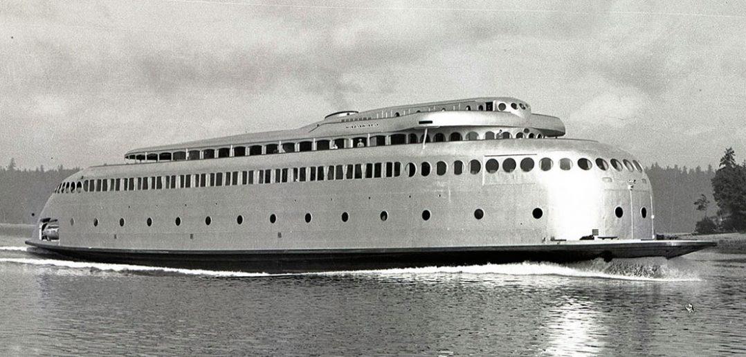 MV Kalakala - zapomniany prom w stylu Art Deco