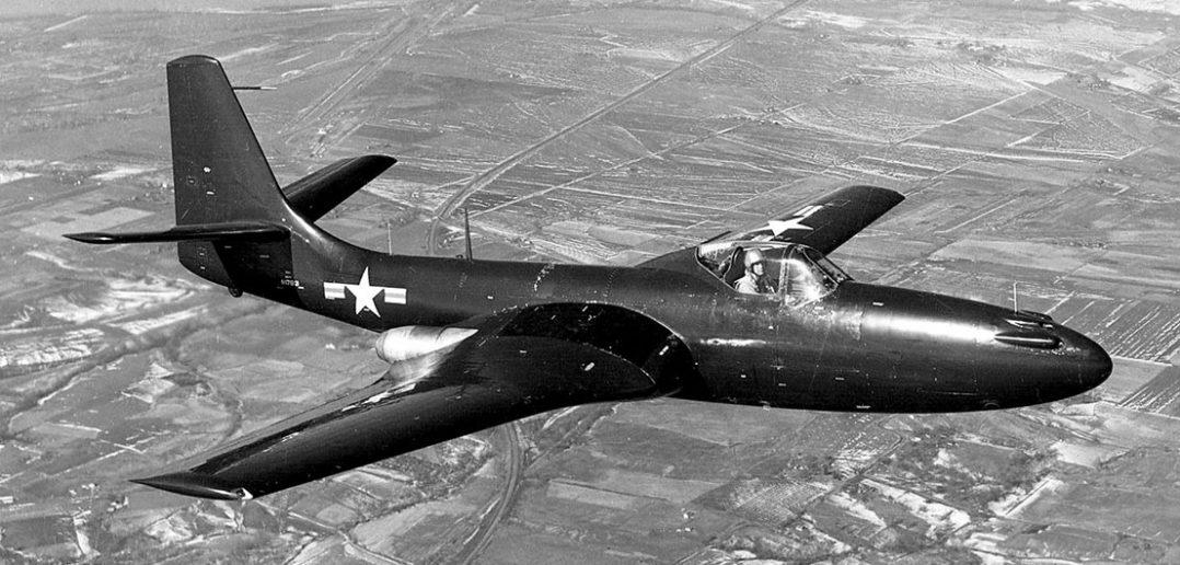 McDonnell FH-1 Phantom - pierwszy odrzutowiec US Navy