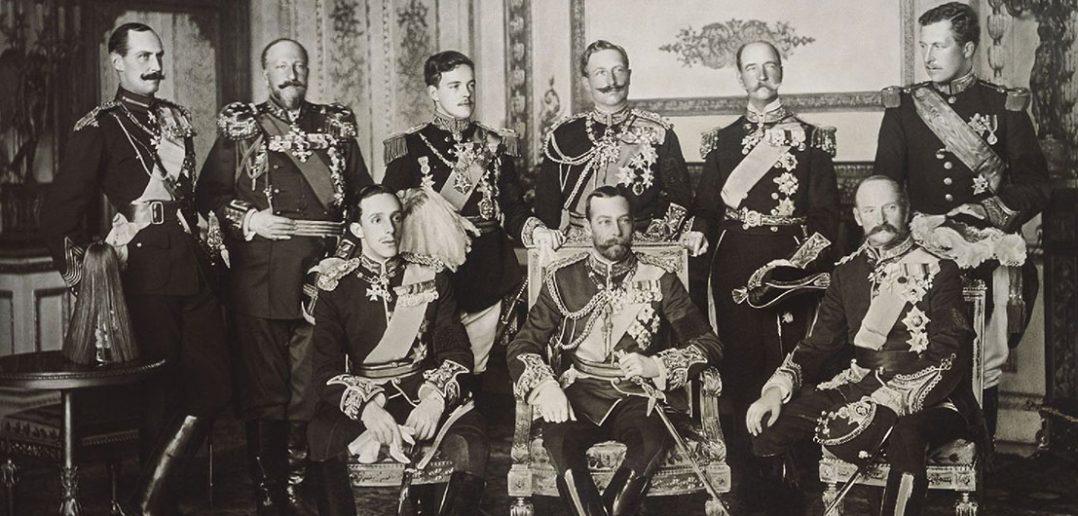 Europejscy królowie na jednym zdjęciu - 1910 rok