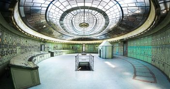 Opuszczona elektrownia Kelenföld w Budapeszcie