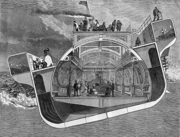 Bessemer Saloon - specjalna kabina pasażerska na pokładzie parowca