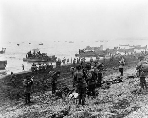 Oddziały desantowe na wyspie Kiska