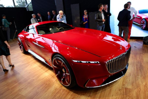 Vision Mercedes-Maybach 6 (for. greencarreports.com)