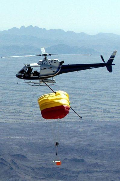Nieudana próba przechwycenia sondy Genesis 8 sierpnia 2004 roku.