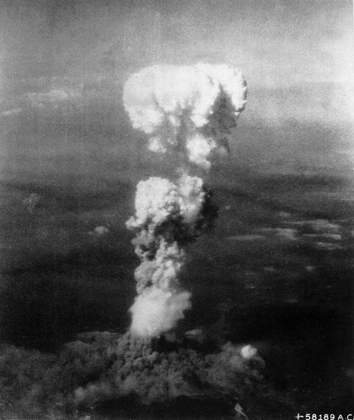 Grzyb atomowy nad Hiroszimą
