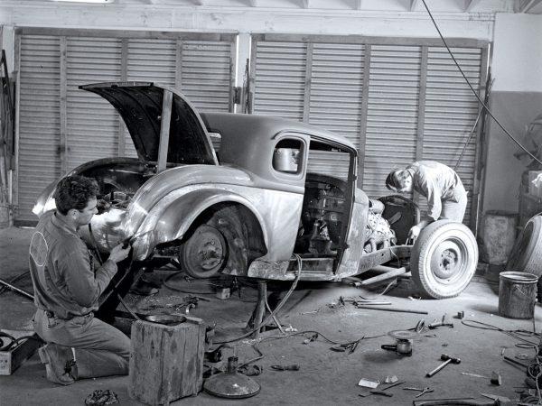 Budowa hot roda