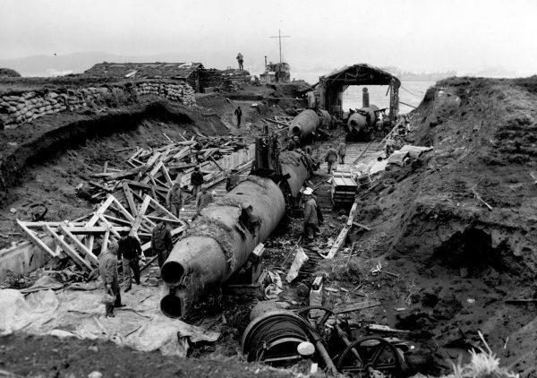 Porzucone japońskie okręty podwodne na wyspie Kiska