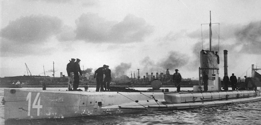 SM U-15 - pierwszy zatopiony u-boot (na zdjęciu SM U-14)