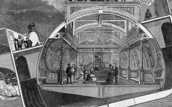 Bessemer Saloon - nieudany pomysł na walkę z chorobą morską