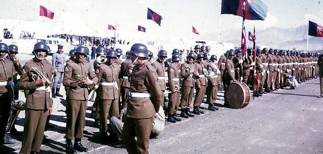 Afgańska armia w latach 60-tych - zdjęcie