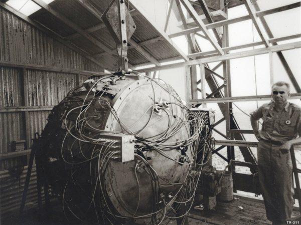 Gadget - pierwszy zdetonowany ładunek nuklearny