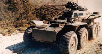 Lockheed XM808W - zapomniany pojazd rozpoznawczy