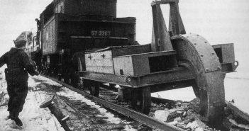 Schwellenpflug - niemiecki sposób na niszczenie torów kolejowych