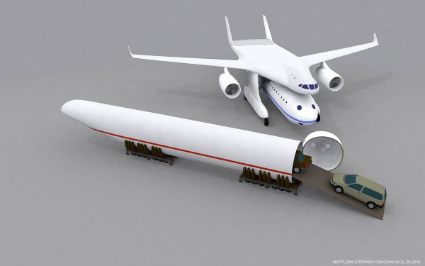 Clip-Air i przykłady konfiguracji drogowej (fot. EPFL/TRANSP-OR/LIV/ICOM)