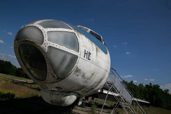 Tu-134A wystawiony na sprzedaż (fot. AeroBayArt)