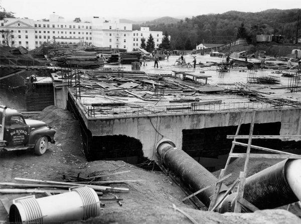 Budowa schronu (1959-1962)