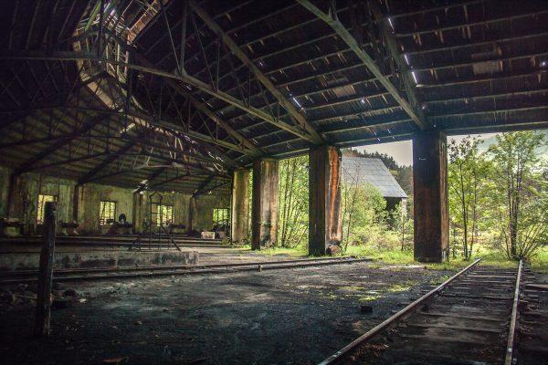 Opuszczona parowozownia w Canfranc (fot. juanedc.com/Flickr.com)