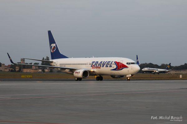 Enter Air Boeing 737-800 - Dzień Spottera – Poznań Lotnisko Ławica (fot. Michał Banach)