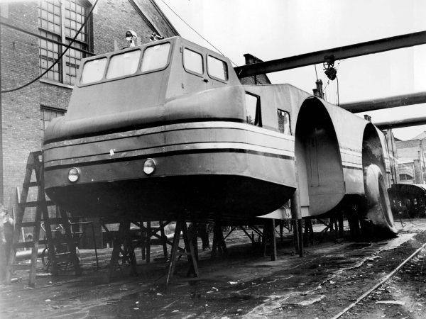 Antarctic Snow Cruiser w trakcie budowy