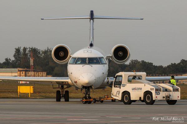 Lufthansa Bombardier CRJ900 NextGen - Dzień Spottera – Poznań Lotnisko Ławica (fot. Michał Banach)