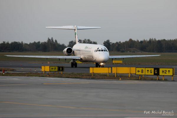 McDonnell Douglas MD-80 - Dzień Spottera – Poznań Lotnisko Ławica (fot. Michał Banach)