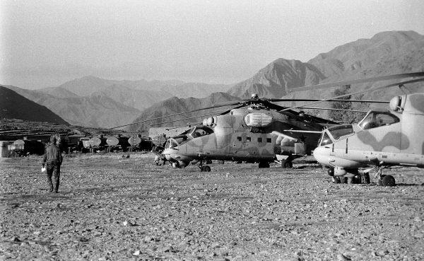 Mi-24 w Afganistanie