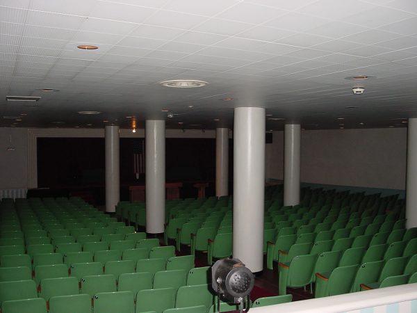 Wnętrze schronu - Pomieszczenia dla kongresmenów