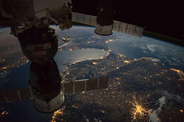 Gibraltar (fot. ISS)