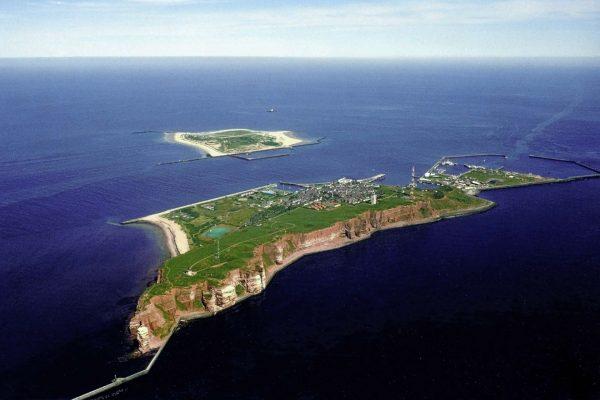 Wyspa Helgoland współcześnie (fot. Pegasus2/Wikimedia Commons)