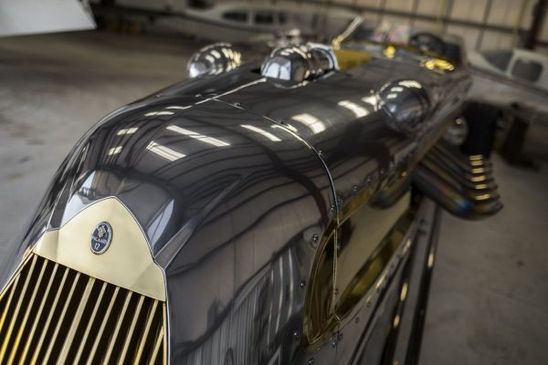 1940 Packard Royal Streamliner Roadster (fot. Patrick Ernzen/Auctions America)