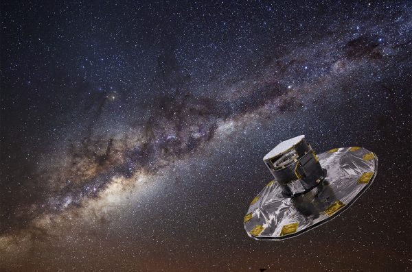 Satelita GAIA (fot. Airbus Defence and Space)