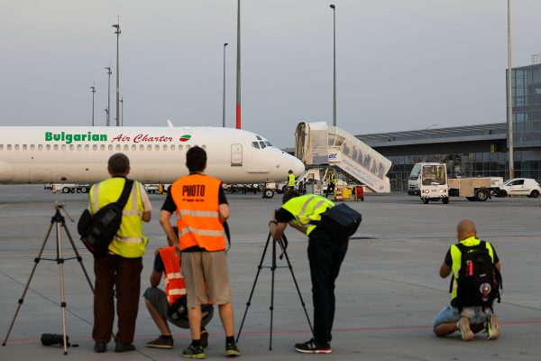 Dzień Spottera na lotnisku Poznań-Ławica (fot. Michał Banach)