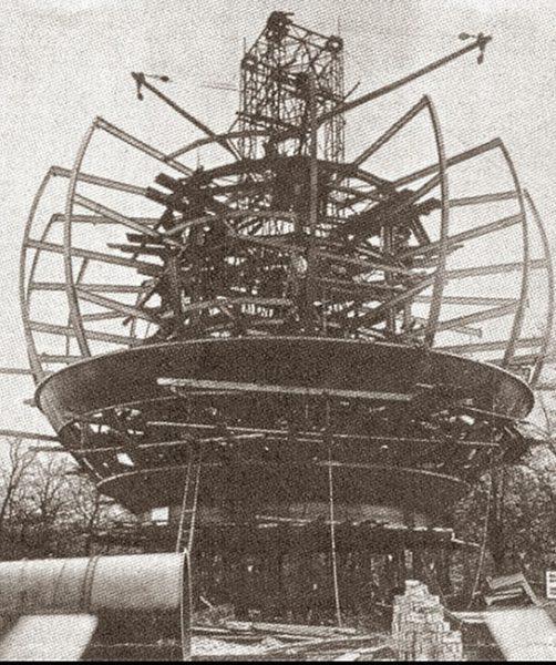 Kugelhaus w trakcie budowy